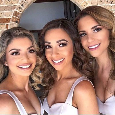 Glow Girls Bridesmaid